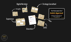 Ankit Agarwal's Digital Resume