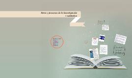 Copy of Pasos y procesos de la Investigacion Cualitativa