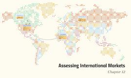 Assesing International Markets