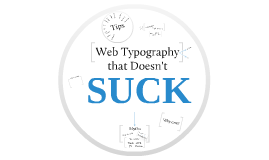 Web Typography that Doesn't Suck
