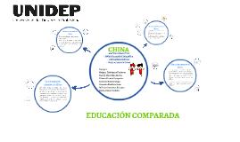 Copy of EDUCACIÓN COMPARADA
