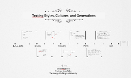 Texting Styles, Cultures, and Generations