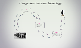 changes in science and technology