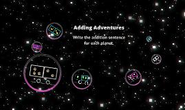 Adding Adventures!