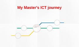 My Master's ICT journey