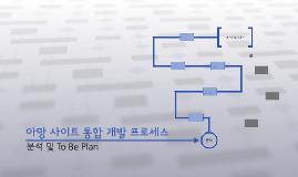 아망 사이트 통합 개발 프로세스
