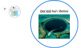 Det blå hul i Belize