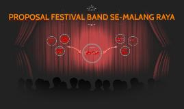 PROPOSAL FESTIVAL BAND SE-MALANG RAYA