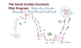 Ann Steers, Week 4, Option B: Social Studies Outreach – Pilot Program