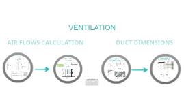 AIR FLOW & DUCT DIMENSION CALCULATION