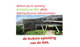 BKM bij de NHL - uitgebreid