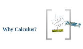 Why Calculus?