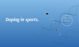 Doping in sports.