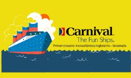 Carnival Cruises - Venezuela Inglaterra