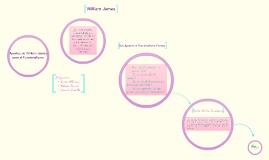 Copy of Aportes de William James para el Funcionalismo