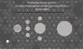 Nomblecatura IUPAC