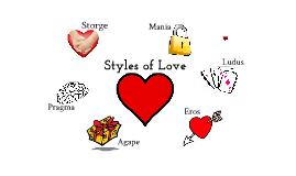 Styles of Love