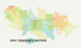 Emily Thompson's Portfolio