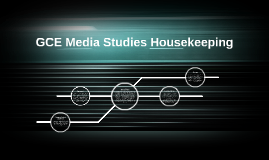 GCE Media Studies Housekeeping