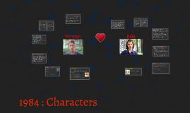 1984 Character presentation