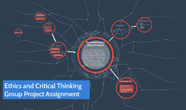 Ethics and Critical Thinking Assignment