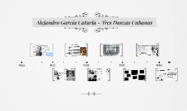 Alejandro García Caturla - Tres Danzas Cubanas