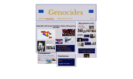 Genocide in the former Yugoslavia