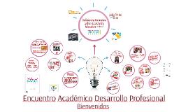 Encuentro Académico Desarrollo Profesional