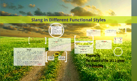 character and colloquial speech Speech in colloquial and formal tamil revealed some significant differences the possibility that the rhythmic character of a language emerges from.