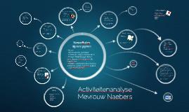 "Mevrouw ""Naebers"" activiteitenanalyse"