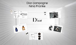 Dior campagne