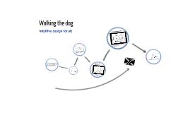 Walking the dog..... design ideas