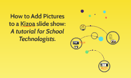 How to Add Pictures to a Kizoa slide show: