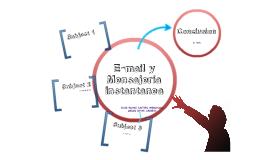 e-mail y Mensajeria Instantanea