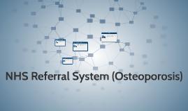 NHS Referral System (Sedentary)