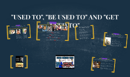 "How to use ""Used to"" - ""Be used to"" - ""Get used to"""