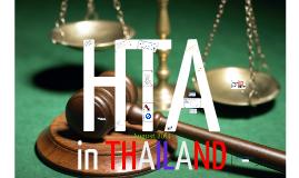 HTA in Thailand