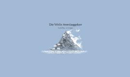 Die Welle: fremlæggelser