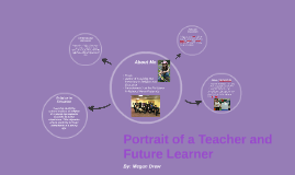 Portrait of a Learner and Teacher