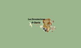 Las Desvastaciones de Osorio