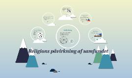 Religions påvirkning af samfundet