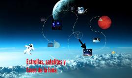 Estrellas, satelites y fases de la luna
