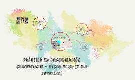 Práctica de comunicación comunitaria - cesac n° 30 (n.h.t za
