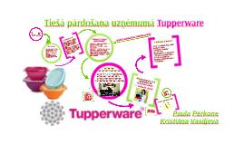 Tiešā tirdzniecība uzņēmumā Tupperware