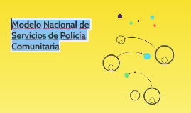 Modelo de Servicios de Policía Comunitaria