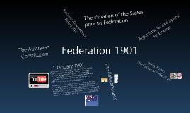 Copy of Australian Federation 1901