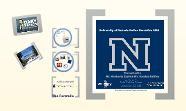 University of Nevada EMBA Online