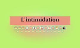 L'intimidation