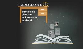 TRABAJO DE CAMPO