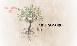 ARTE SONORO